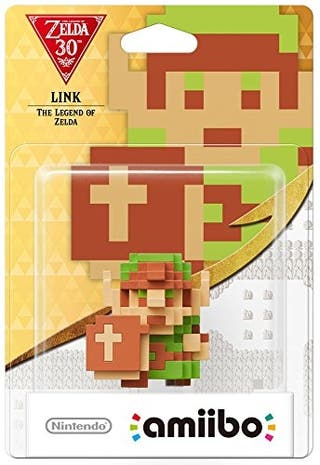 Link 8 Bits Amiibo