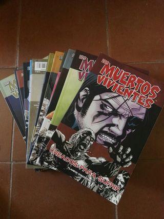 14 comics Walking Dead