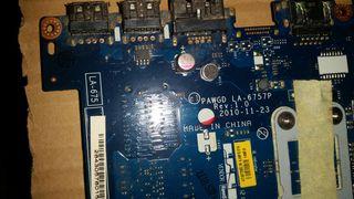 placa base pawgd la-6757p lenovo g575-570
