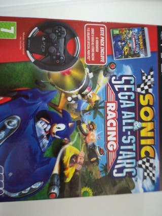 SONIC SEGA ALL STARS PS3