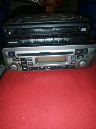 radio Cd + adaptador