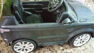 Coche eléctrico juguete Range rover