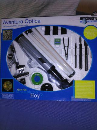 Juego Aventura Optica