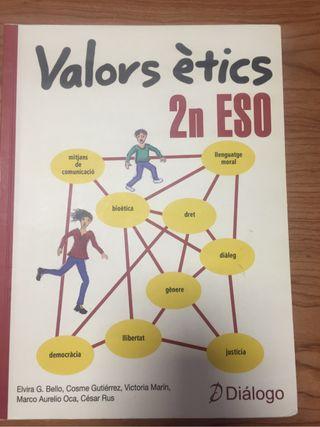 Libro Valors Ètics 2°ESO