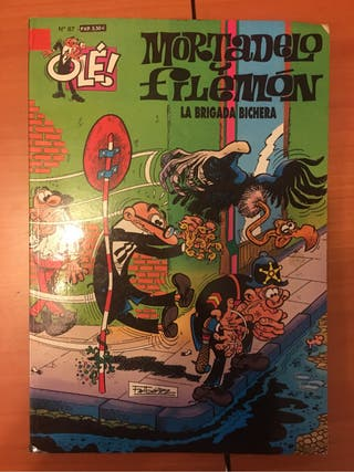 Libro Mortadelo y filemon