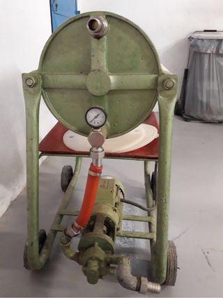 Máquina de filtrar aceite