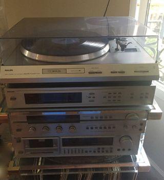Gran Equipo de música Philips - CALIDAD 7 piezas