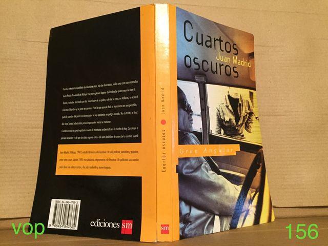 Libro cuartos oscuros de segunda mano por 5 € en León en WALLAPOP
