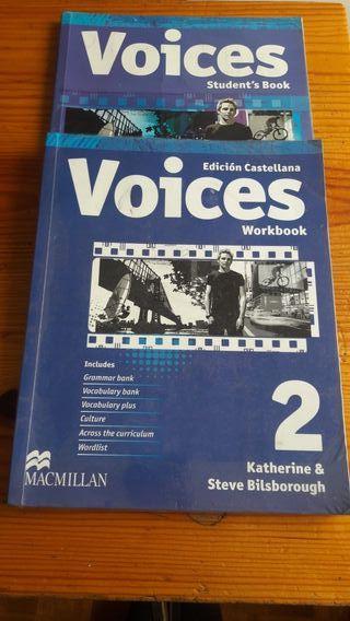 Libro escolar Ingles Voices 2° E.S.O
