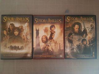 """Trilogia: """"El Señor de Los Anillos"""". - DVD"""