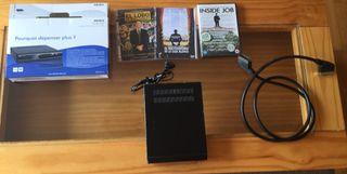 DVD Akira con puertl USB + set de películas