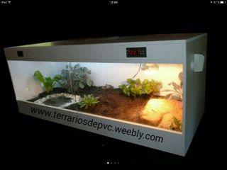 Terrario 100x40x40 Pvc ENVIO GRATIS reptiles