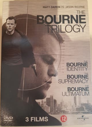 The Bourne Trilogy - 3 DVD - Official Universal
