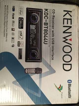 Cd mp3 usb bluetooth kenwood