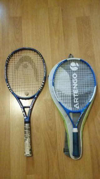 Raqueta tenis de segunda mano en Alcorcón en WALLAPOP 2b08d4e469acd
