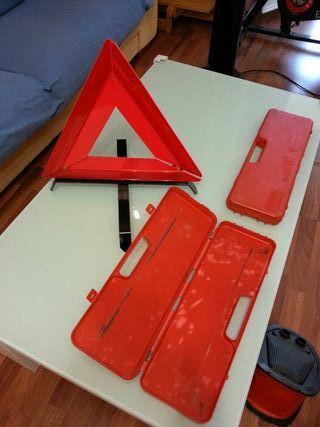 triangulos emergencia coche Whattsapp 692336116