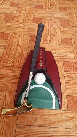 agujero de golf entrenamiento