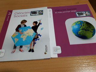 Libro de Ciencias Socials de tercero de primaria