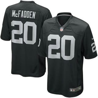 Xl Raiders Camiseta Por Nike Mcfadden Mano Segunda Nfl 100 De qITwTH7