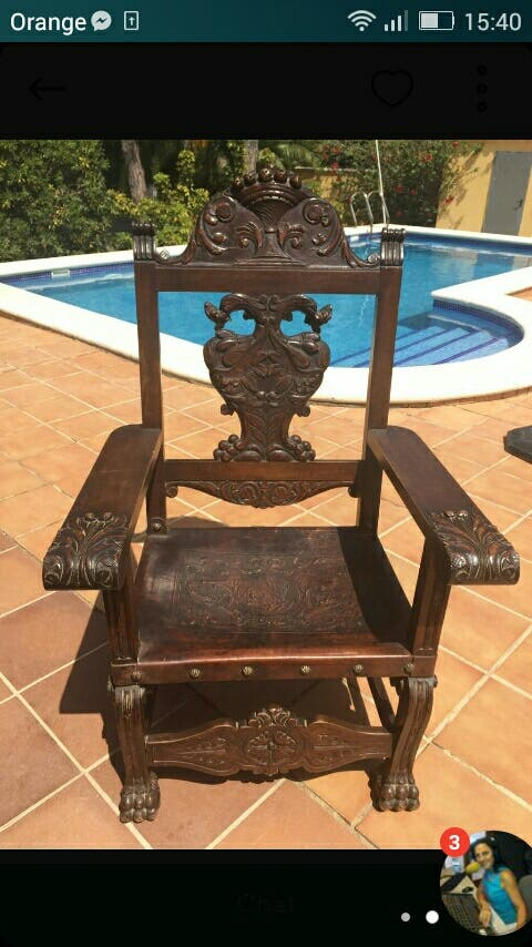 Pareja de sillones / butacas antiguos
