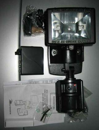 Kit Vigilancia: cámara+proyector+receptor inalámbr