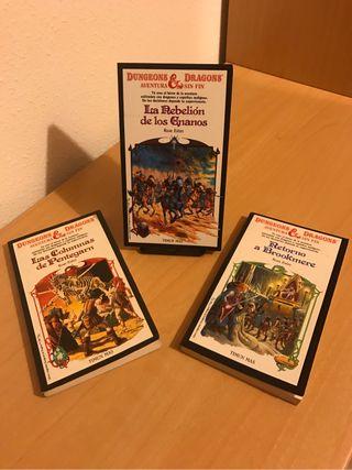 Libro Elige tu propia aventura Dragones y Mazmorra