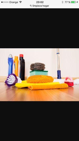 Empleada del hogar/limpieza de domicilios o local/cuidados