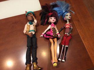Monster Hight set 4 muñecos