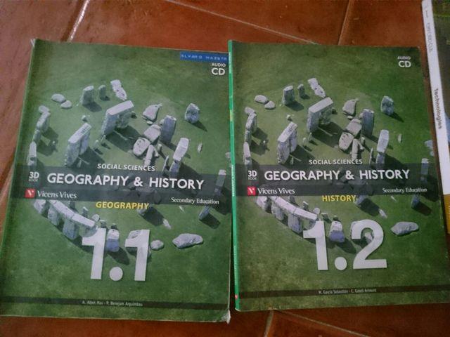 Libro Geografia Historia 1 ESO Vicens Vives