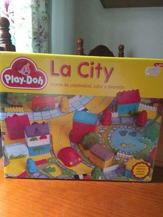LA CITY de Play Doh