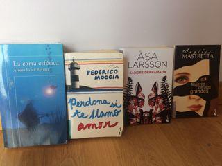 Lote libros Narrativa