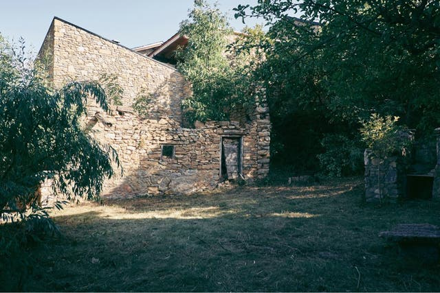 Casa ceretana en la Cerdanya