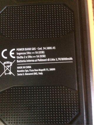 Bateria esterna de litio