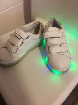 Zapatillas luces
