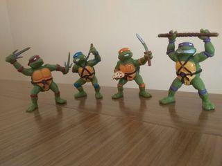 Tortugas Ninja 8 cm