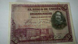 BILLETE DE 50 PESETAS