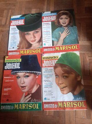 Revistas comic de Marisol