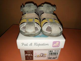 Sandalias Pat&Ripaton T21 de piel