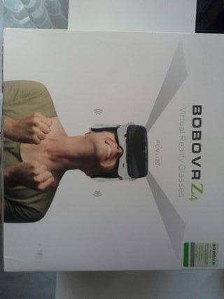 Gafas de realidad virtual y mando