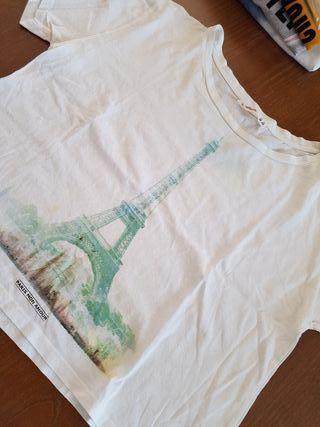 Camiseta crop top lefties talla M