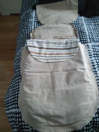 Saco reversible para cochecito de bebé