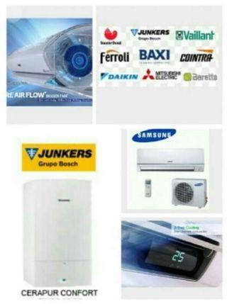 reparaciones / instalador autorizado caldera, A/A