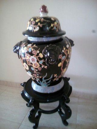 Jarron de ceramica china