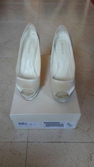 zapatos de novia de colores de segunda mano en leganés en wallapop