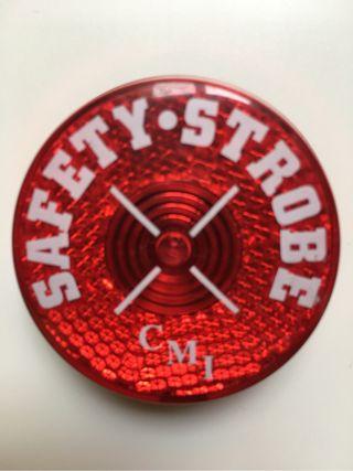 Luz seguridad roja