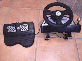 Ps2 volante Speedter 2