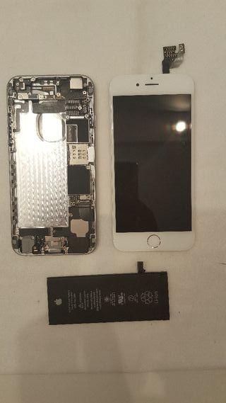 Iphone 6, pantalla, bateria y chasis original