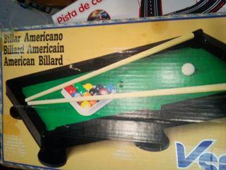 juguete Vintage billar americano