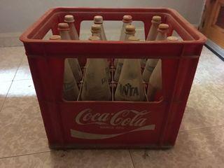 Caja coca cola antigüa