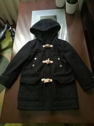 chaqueta niño azul marina zara talla 5